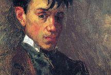 Pablo Picasso - self portraits