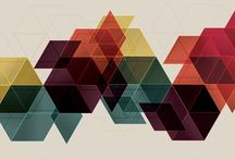Abstract illustration Geometric