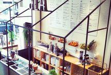 Restaurants / Ideas, places to visit, eat, food, style, decor.