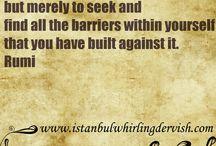 Rumi / Mawlana Jalaluddin Rumi Quotes