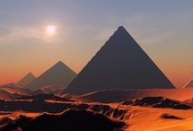 egypt, pyramidy