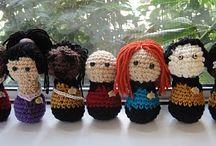 Idee crochettose - MANGA,CARTOONS, MOVIES / by Susanna Susita Basso Sinagra