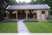 terasa acoperita/atelier gradina