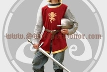 Childrens Medieval Clothing / by Swords of Honor