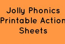 Jolly Phonics/Grammar - Synthetic Phonics
