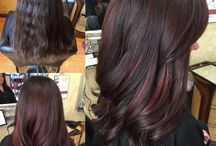 Hair Colours Red Highlights