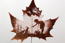 hojas un arte