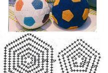 Bola de crochê