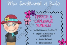 PreK Speech & Language / As a special education teacher (minor is speech) and mommy to a preschooler I understand and value speech and language development.  I created this board to pin some of the best ideas for S&L on Pinterest :) / by The Teaching Resource Resort