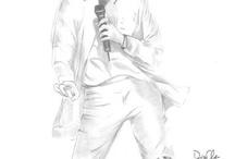 Michael Jackson draws