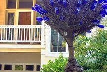 Gullah Bottle Trees