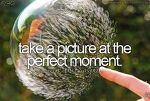 Bucket list / Things to do before I die!
