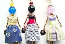 Dools Gisel, Made in Italy. / Beautiful necklaces with Dolls, Made in Italy.