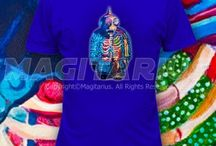 Kaiju/Zombie/Alien/Art Apparel / Cool clothing with art designs
