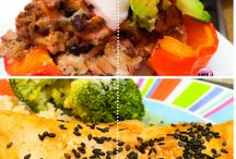 Healthy Meal Plans / Healthy dishes and healthy meals for busy weeknights.  Healthy recipes and meals that are delicious, easy to make and will help with weight loss.