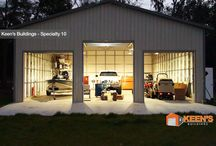 Special Buildings for Storage, Garages, Barns, and Storage Sheds