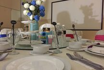 Function room with colorful theme - Rainbow