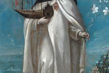 Vrouwen en boten  / Ik zie vaak schilderijen van vrouwen met een boot als hoed. Ik weet nog niet waar het vandaan komt maar het fascineert me wel