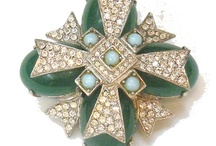 Pins a Plenty / Tis the year of the Brooch, wear them in multiples for maximum wow!!! / by Sheri's Vintage Jewelry Collections