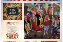 Circus Theme and Activities / Circus thematic fun for kindergarten math, reading, social studies, art, music, writing, and science.