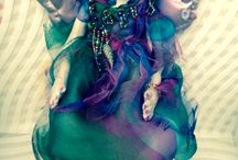 OOAK cloth art dolls