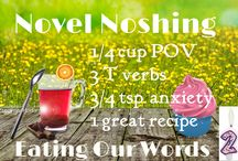 Novel Noshing--Our 2nd Birthday Celebration / Eating our Yummy Words.