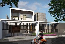 SOB Residence / Programmatic : Housing Location : Lembang, Indonesia   gubah ruang #gubahruang  www.gubahruang.com