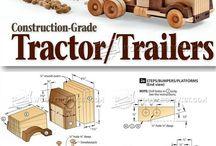 Dřevěné hračkyy