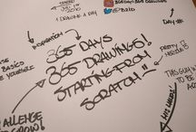 365 days of drawing challenge