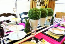 Easter Tablescape / Modern twist on a Easter Tablescape