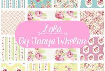 Lola by Tanya Whelan for Free Spirit Fabrics
