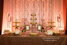 Mithai Table / These Traditional South Asian dessert displays have been created by Candee Couture.