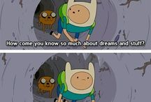 Rainbows and madness: ADVENTURE TIME!