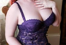 Purple Vintage Lingerie / From lavendar, lilac and periwinkle to the deep royal purples, plums and burgundy shades of vintage lingerie!