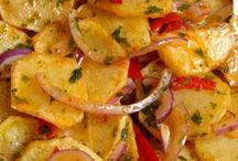 Kızarmış patates salatasi