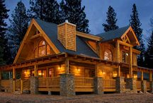 Extraordinary Log & Timber Homes / Log, Timber Frame, and Hybrid Homes / by Natural Element Homes