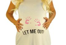 Rockin' the Humor and Style / Funny Maternity Tops from Mommylicious Maternity.  / by Mommylicious Maternity