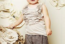 Little Ones // Clothing / Adorable children's fashions and accessory ideas.