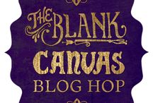 The Blank Canvas Blog Hop 2014 / What happens when 15 artists from various styles and backgrounds come together to explore their creative process? Join in as we each explore how we enter the blank page or canvas.