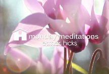 Short meditations. Courte  meditation - Meditaciones cortas.