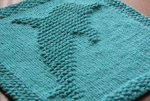 strikket / Hæklet klude
