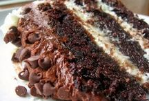 Desserts / Chocolate layer cake