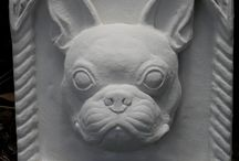 French Bulldog relief