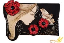 Painted clutch