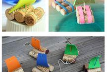 nápady pro tvoření s dětmi