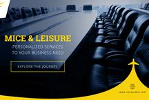 MICE and Leisure / Our complete suite of corporate travel management services ensures that you get the best value for your money from every business conference you organize.