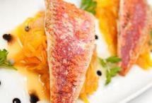 Poissons,plats cuisinés a base de poissons / tout ce qui se rapporte à la mer:tartare,carpaccio,boulettes