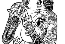 Girl Tatoo/Ink