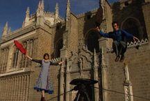 Festival Rondando / Inundamos las calles de Toledo con circo, música y danza durante el puente de mayo.