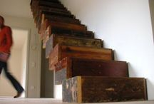 Wooden stairs and beyond / Stairs